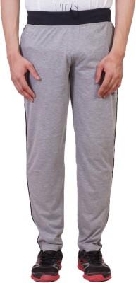 Tab 91 Men's Lower Solid Men's Grey Track Pants