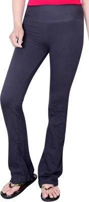 Comfty Solid Women's Grey Track Pants