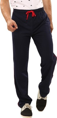 Softwear Cut&Sew Solid Men's Dark Blue Track Pants