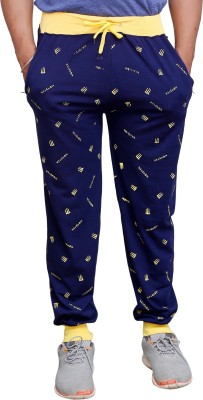 Poorvi collections Printed Men's Blue Track Pants