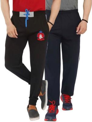 Jazzup Printed Men's Blue, Brown Track Pants