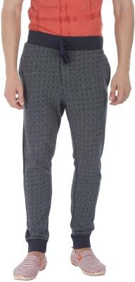 Zobello Printed Men's Grey Track Pants