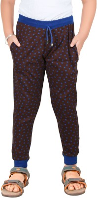Red Ring Solid Boy's Black, Blue Track Pants