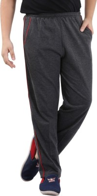Fizzi Pro Solid Men's Grey Track Pants