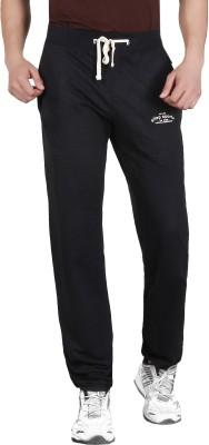 ALIEP Solid Men's Black Track Pants