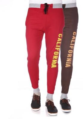 Shootr Solid Men,s Multicolor Track Pants