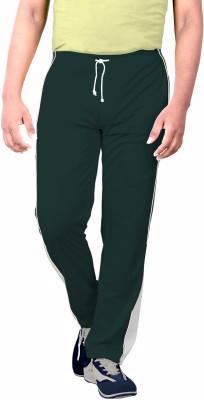 SPORTEE Solid Men's Dark Green Track Pants
