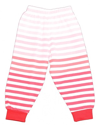 Ollypop Striped Boy's Red Track Pants