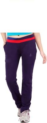 Prova Solid Women's Purple Track Pants