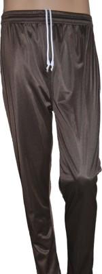 Lyril Solid Men's Brown Track Pants