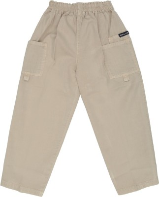 SETVEL Solid Boy's Grey Track Pants