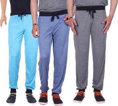 Gag Wear Solid Men's Dark Blue, Grey, Light Blue Track Pants