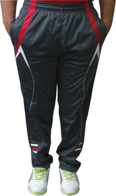 Troos Solid Men's Grey Track Pants
