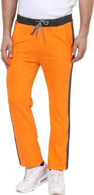 Yepme Solid Men's Orange Track Pants