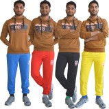 Shaun Solid Men's Multicolor Track Pants