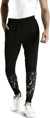 Kook N Keech Solid Men's Black Track Pants at flipkart