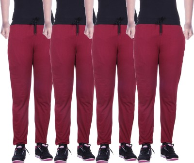 Gag Wear Solid Women,s Multicolor Track Pants