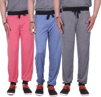 Gag Wear Solid Men's Red, Dark Blue, Grey Track Pants