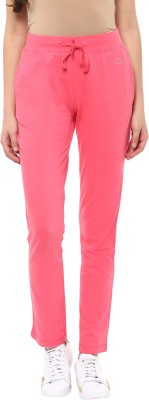 Ajile by Pantaloons Solid Women's Red Track Pants at flipkart