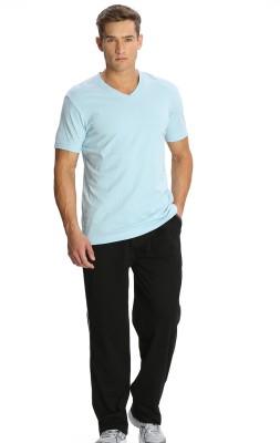 Jockey 24X7 Men Solid Men's Black Track Pants