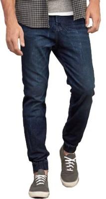 Bangin Solid Men's Blue Track Pants