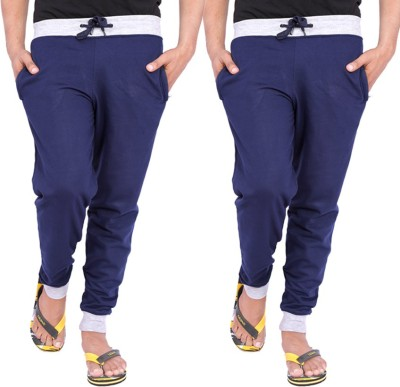 Hardys Solid Men's Blue Track Pants
