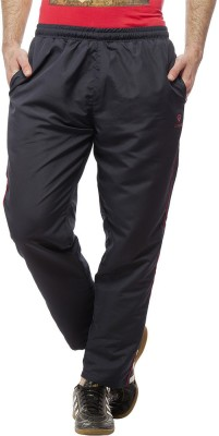 Gypsum Self Design Men,s Blue, Red Track Pants