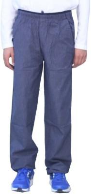 Romano Checkered Men's Blue Track Pants