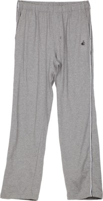 Jockey Solid Men's Grey Track Pants