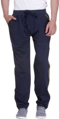 Grand Bear Striped Men's Dark Blue Track Pants