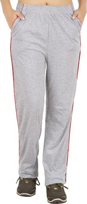 Notyetbyus Solid Women's Grey Track Pants