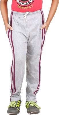 Meril Solid Boy's Grey Track Pants