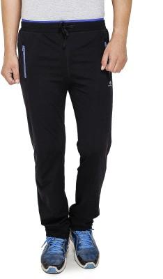Cayman Fashion Solid Men's Black Track Pants