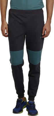 sporty culture Applique Men's Black Track Pants