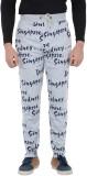 Brandonn Printed Men's Grey Track Pants