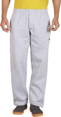 Wermin Solid Men's Grey Track Pants