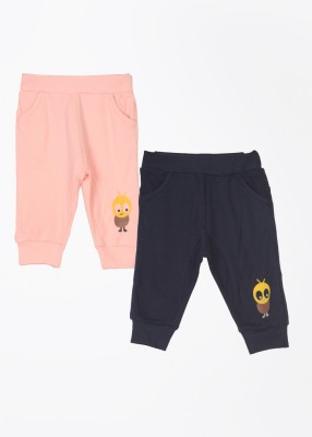 Day 2 Day Solid Baby Boy's Blue, Pink Track Pants