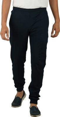Kanter Solid Men's Blue, Dark Blue Track Pants