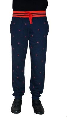 Gen Printed Men,s Blue Track Pants
