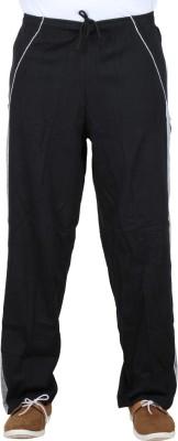 Sequeira Solid Men's Black Track Pants