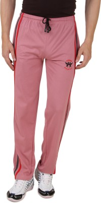 HAP Sports Solid Men's Pink Track Pants