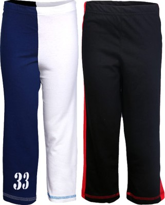 Gkidz Printed Boy,s White, Red Track Pants
