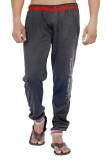 Ahhaaaa Solid Men's Grey Track Pants