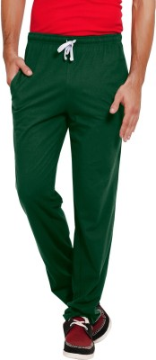 Softwear Striped Men's Dark Green Track Pants