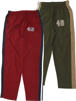 Jus Cubs Embroidered Boys Multicolor Track Pants
