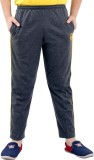 Fizzi Pro Solid Men's Grey Track Pants