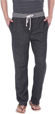 Zobello Solid Men's Grey Track Pants