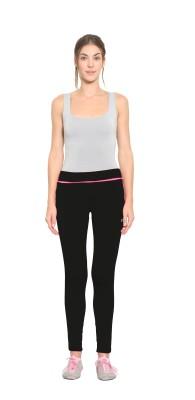 SWEET DREAMS Solid Women's Black Track Pants