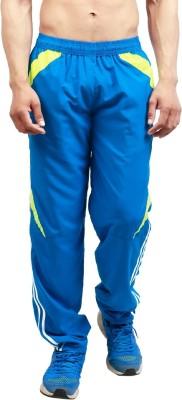 Leg-In Solid Men's Light Blue Track Pants