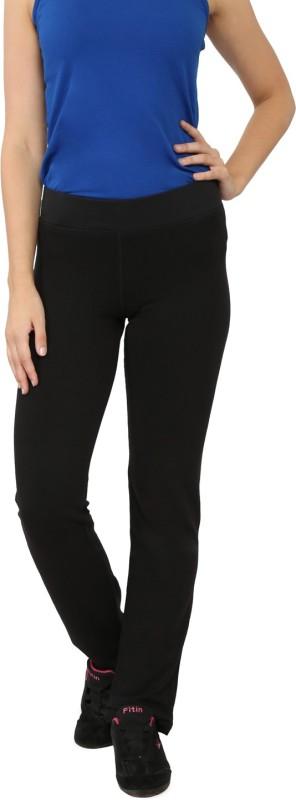 My Secret Comfortable Solid Women's Black Track Pants
